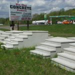 manufactured concrete steps
