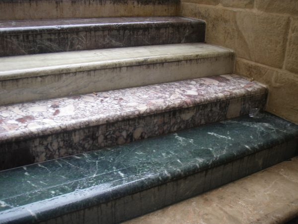 marble stairs steps