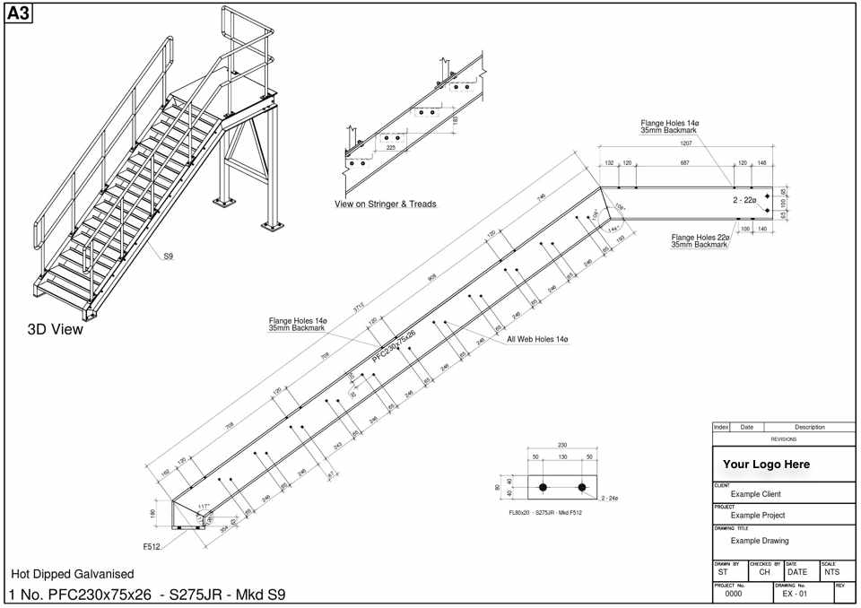 Metal Stair Design Example Staircase Design