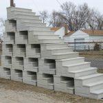 pre made concrete steps