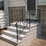 precast cement steps