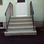 preformed cement steps