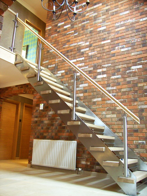 Ready Made Wooden Stairs Staircase Design