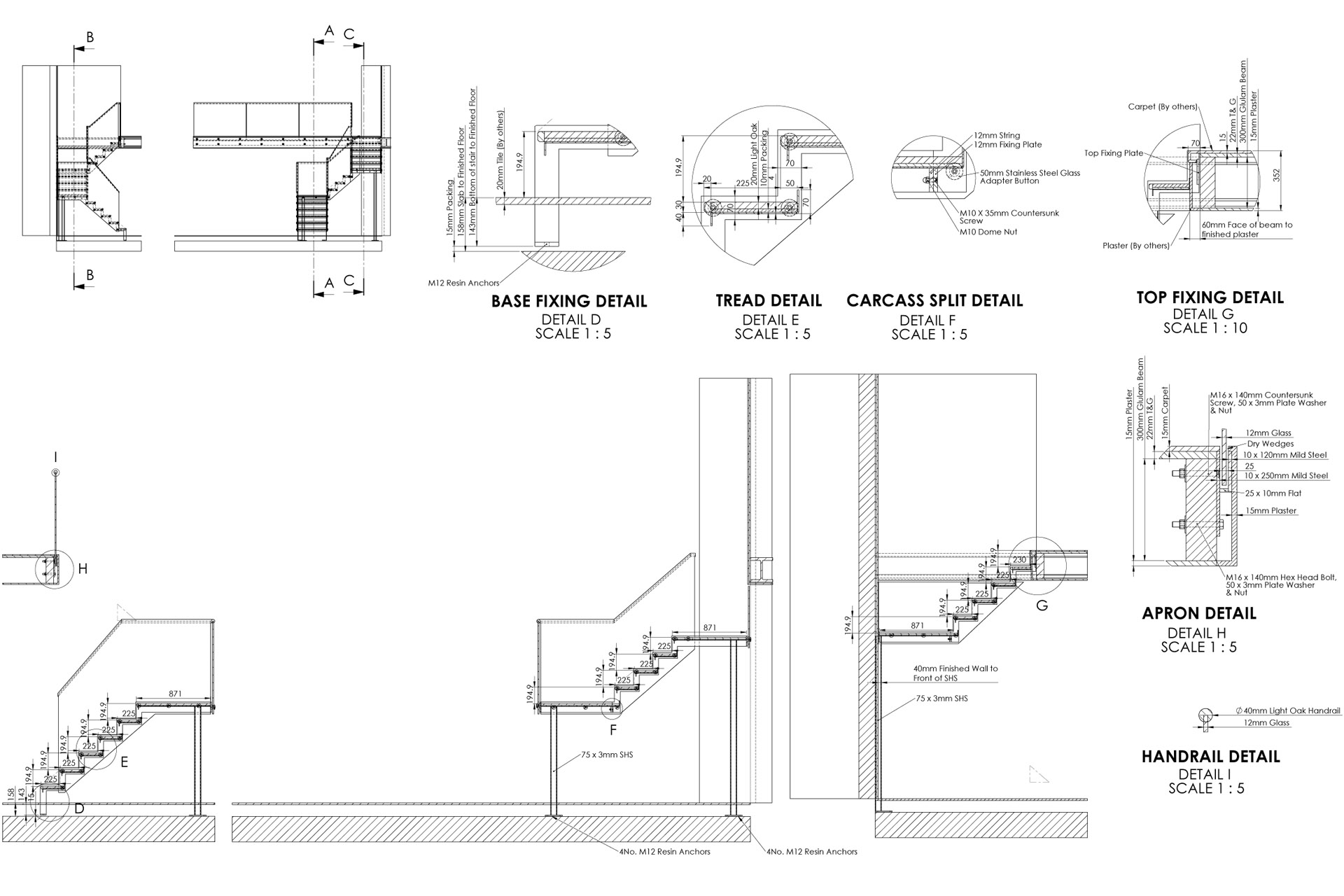 Steel Stairs Design Details Staircase Design