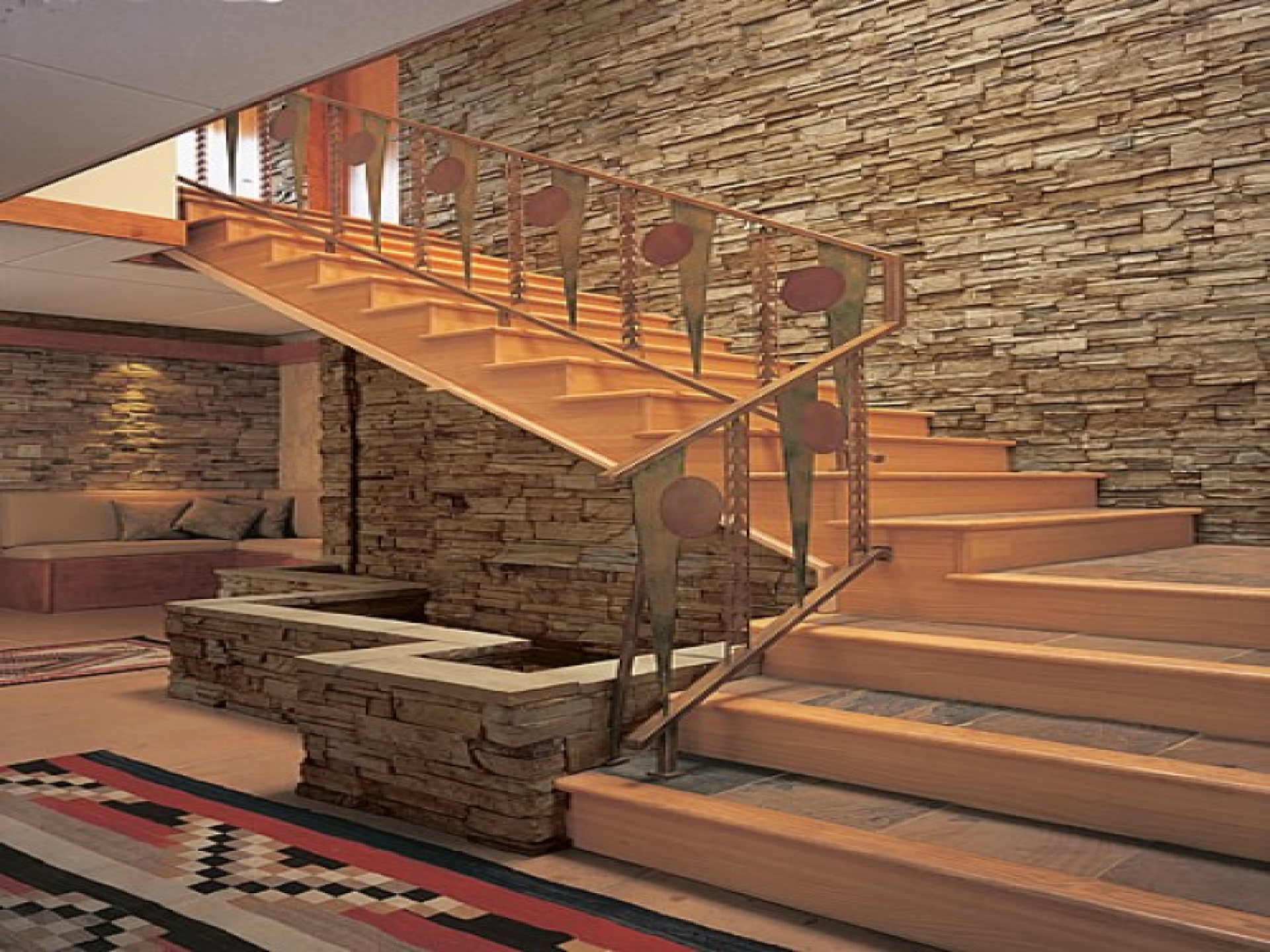 Interiors Design Wallpapers » Interior Stone Wall Cost | Best Interiors  Design Wallpapers