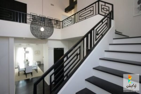 terrace metal stairs design