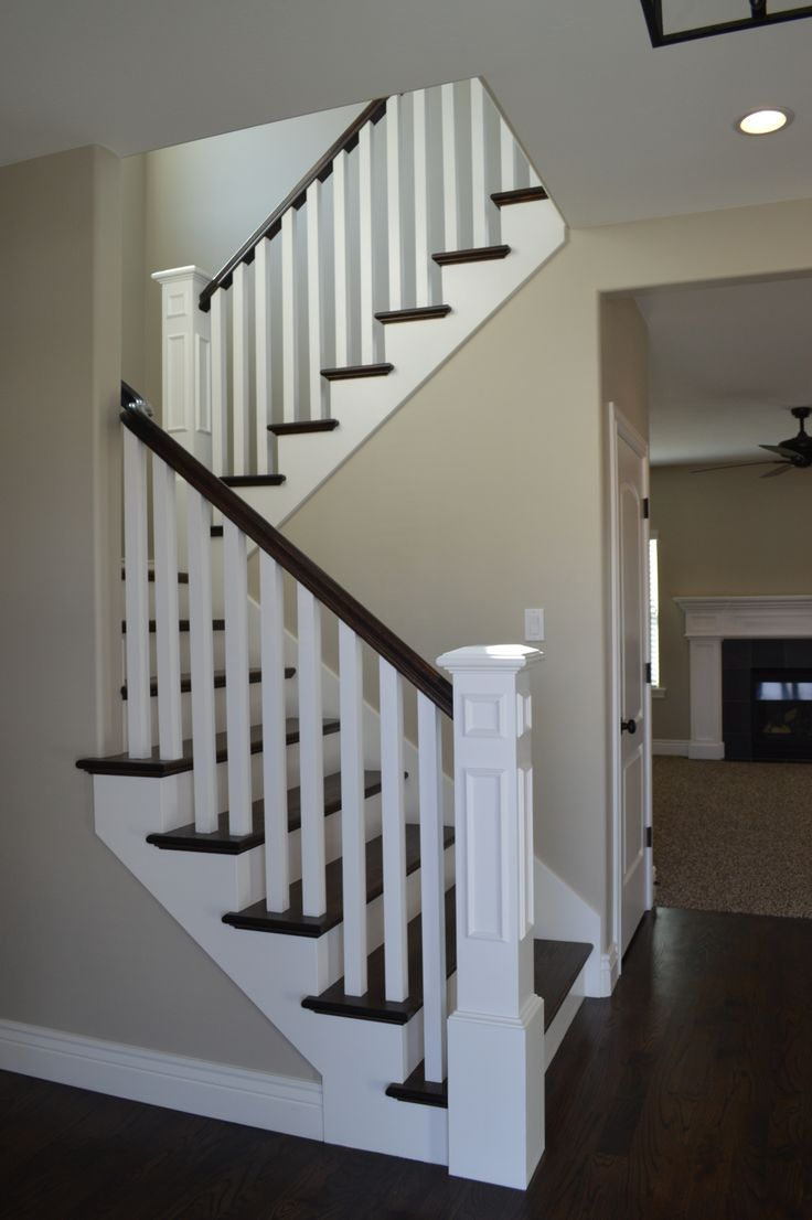 Wood Stair Railing