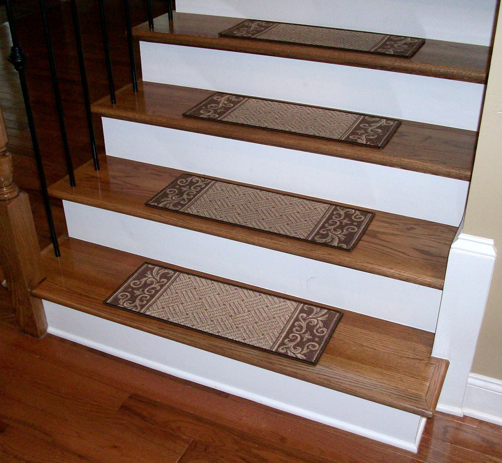 wood stair treads