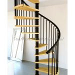 wooden spiral staircase kits