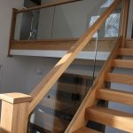 wooden staircases oak