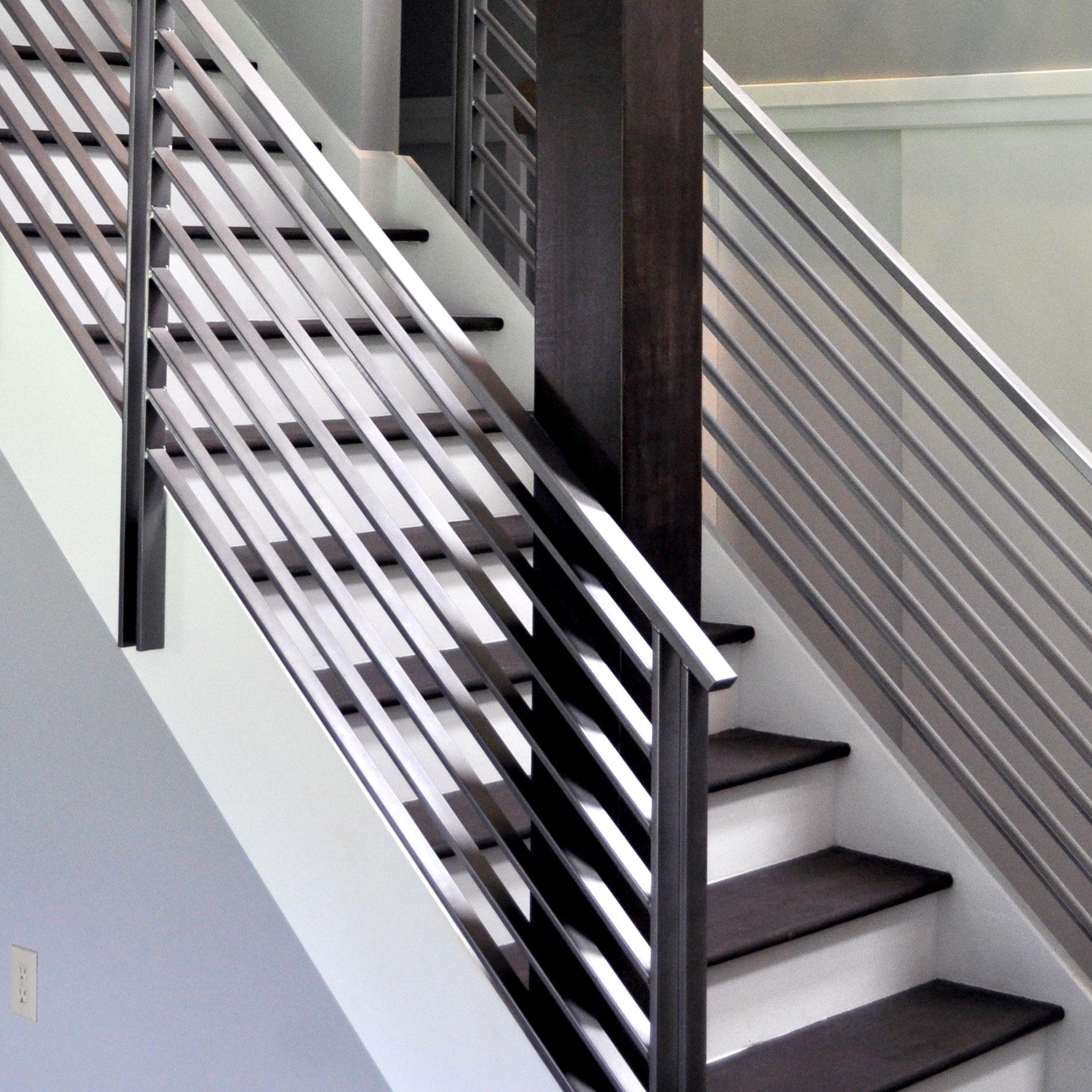 Merveilleux Metal Modern Stair Railing