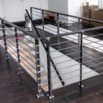 welded stair handrails