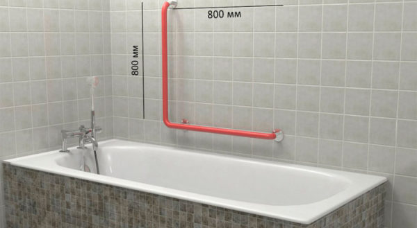 Beau Ergonomic Holders Are Installed For Ease Of Use Of Bathroom At The Level Of  The Toilet. Not Only Private Apartments, But Also Catering Establishments,  ...